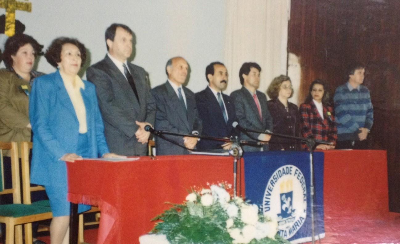 Ato Oficial de instalação da URI – São Luiz Gonzaga em 1992